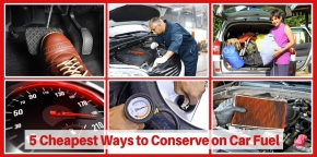 5 cheapest ways to conserve on car fuel